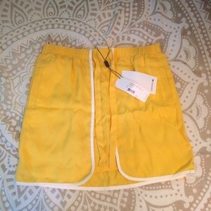 Lacoste Yellow Tennis Skirt